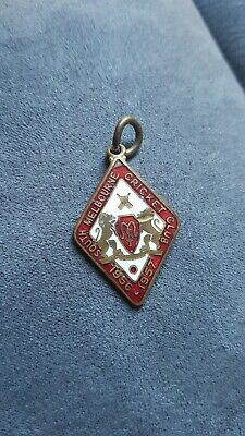 South Melbourne Cricket Club Membership Badge 1956 1957