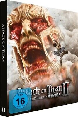 Attack on Titan II - End of the World, 1 Blu-ray (Limited Edition Steelbook NEU