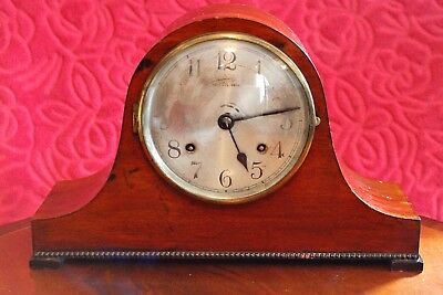Vintage English 'The Albreson' 8-Day Striking Mantel Clock