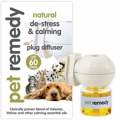 Pet Remedy Natural De-stress and Calming Plug-in Diffuser 40 Mls up to 6 Weeks