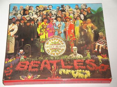 The Beatles Sgt Pepper's Lonely Hearts Club Band - CDP7464422 CD West Germany