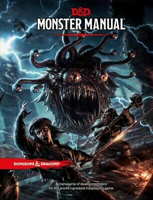 Monster Manual: A Dungeons & Dragons Core Rulebook 9780786965618 | Brand New