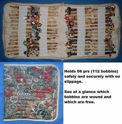 No 4.padded Zip Bobbin Bag Holds 56 Prs Safely And Securely