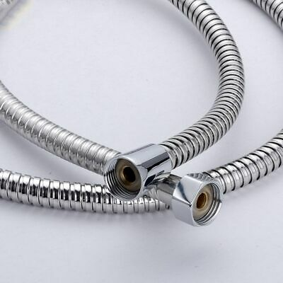 "5ft Flexible Shower Head Hose Extra Long 59"" Stainless Steel Hand Held Bathroom"