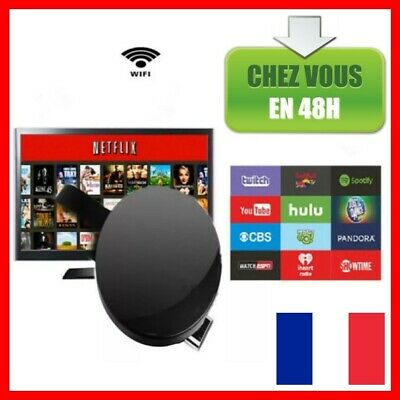 4K TV DONGLE 5G HDMI WiFi Media HD Vidéo Youtube Netflix IOS Android Miracast