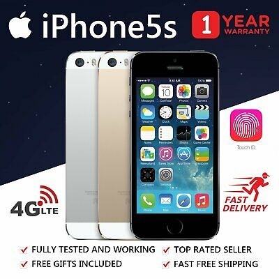 APPLE iPhone 5S   16GB 32GB   Unlocked   Various Grades   All Colours
