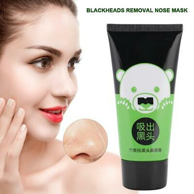 Blackhead Removal Bamboo Charcoal Peel Off Black Face Mask Deep Cleaning 50g