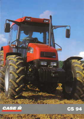 CASE CS 94 Tractor Brochure. Near Mint Condition. 1996 Issue.