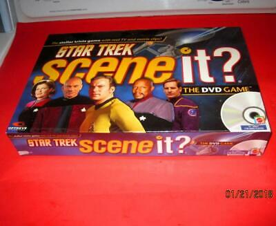 New Sealed Star Trek Scene It The Trivia Dvd Board Game Mattel 2008 All Series!