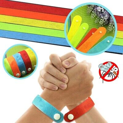 Anti Mosquito Pest Insect Repeller Repellent Wrist Band Bracelet Summer Camp