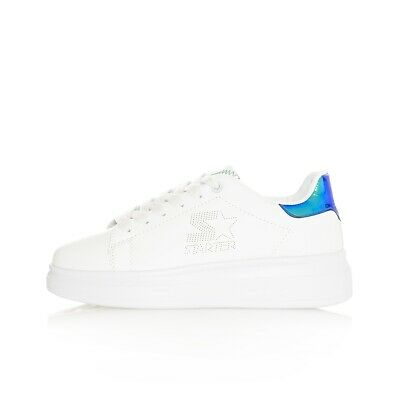Sneakers Mujer Starter Pla11Bc Black Label Shoes Women Snkrsroom Blanco