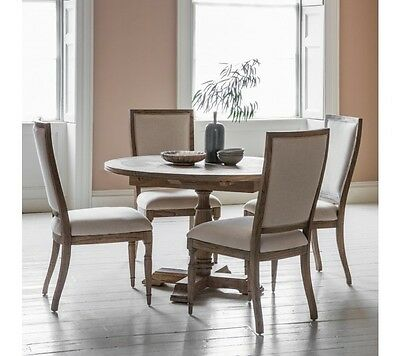 Frank Hudson Gallery Direct Mustique Round Extending Pedestal Dining Table