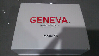 GENEVA Model XS White  in original box.