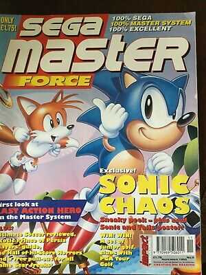 Sega Master Force Magazine November 1993 No 5