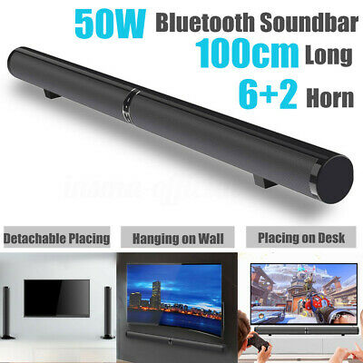 3in1 50W Wireless bluetooth Soundbar Home TV Theater Speaker Subwoofer Sound bar