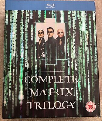 The Complete Matrix Trilogy (Blu-Ray - Used)