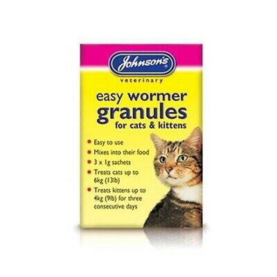 Le Chat De Johnson Granule Vermifuge