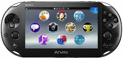 SONY PS Vita PCH-2000 ZA11 Black Console Only Wi-Fi model JAPAN OFFICIAL IMPORT