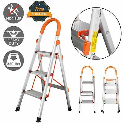 Awesome Fiberglass 2 Ft Folding Step Stool Stand Ladder With 300 Beatyapartments Chair Design Images Beatyapartmentscom