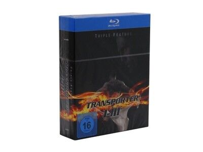 Transporter 1-3 Triple Feature Trilogy 1+2+3 Blu-Ray Box Set New & Sealed