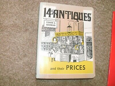 14Th Antiques And Their Prices 1978 Edwin G. Warman 700 Pages Free Shipping
