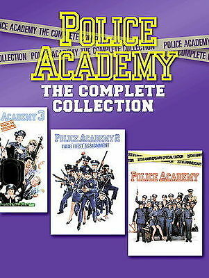 Police Academy - The Complete Collection 7 DVD Boxed Set        NEW/SEALED