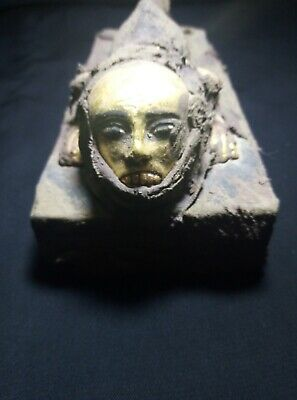 RARE ANCIENT EGYPTIAN ANTIQUE  Statue Seth Fish Head 1450-1240 BC