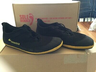 Touratech Sole Runner Omega Shoes Black Yellow Size 41/7.5