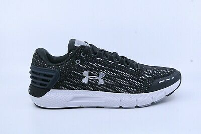 82d5c5bf8 Under Armour 3021225-100 Men's Charged Rogue Running Sneakers Jet Gray /  White