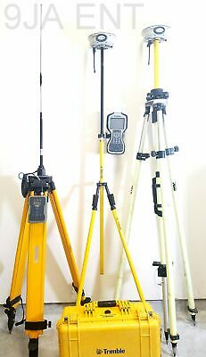 Dual Trimble R8 Model 4 UHF GNSS Base & Rover RTK Kit w/ TDL450 TSC3 Complete
