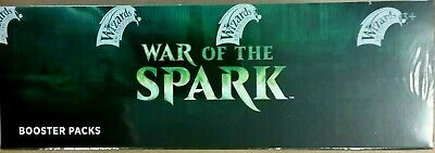 Magic WAR OF THE SPARK Booster Box Factory Sealed IN STOCK -  FREE PRIORITY SHIP