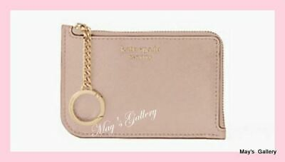 Kate Spade ID Business Wallet Credit Cards Card holder case Gusset Key Chain
