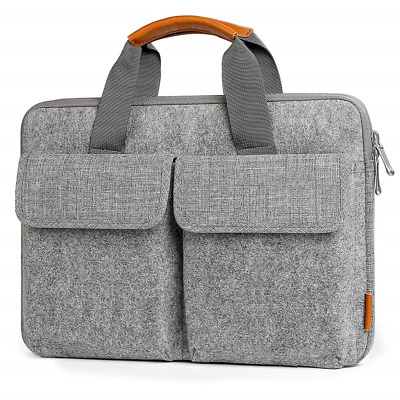 Inateck 14-14.1 Inch Laptop Sleeve Briefcase, Felt Laptop Bag Case for 15'' Pro