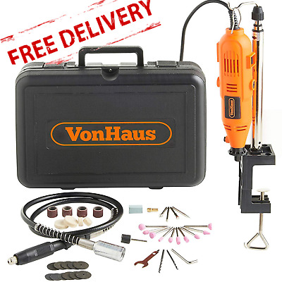 Rotary Multi Tool Set Sanding Drum Disk Grinding Polishing Kit 135W 40 Pieces