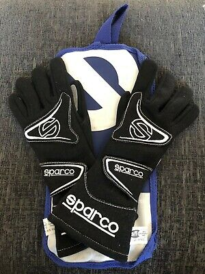 SPARCO FLASH 3.0 Racing Gloves - Size 8 - FIA 8856-2000 - BRAND NEW