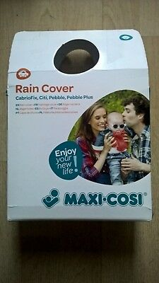 Maxi Cosi Car Seat Rain Cover For Pebble, Pebble Plus, Cabriofix & Citi