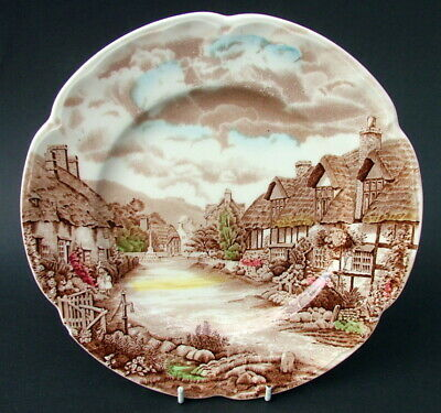 Johnson Brothers Olde English Countryside Multi Colour Large Dinner Plate 26cm