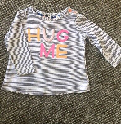Joules Baby girl top Age 6-9 Months