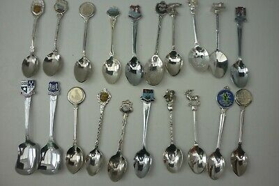 90 Scottish (7A) Souvenir Tea Spoons~ Combine Post~Max £1.10 For Up To 20 Items