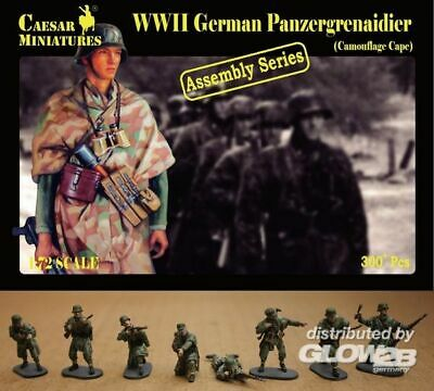 CAESAR MINIATURES 1//72 H068 WWII German Paratroopers BOX sold out catalog