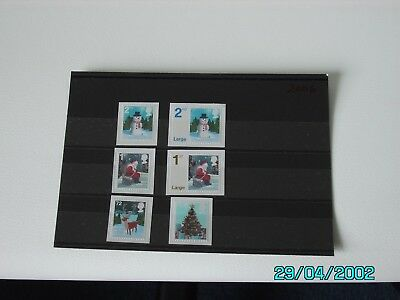 Gb - 2006 -  Christmas - Set Of 6 Mnh Stamps.