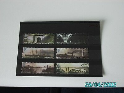 Gb - 2006 -  Brunel - Set Of 6 Mnh Stamps.