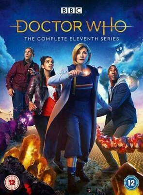 DOCTOR WHO complete series/season 11 Brand new DVD Region 2 Quick Dispatch