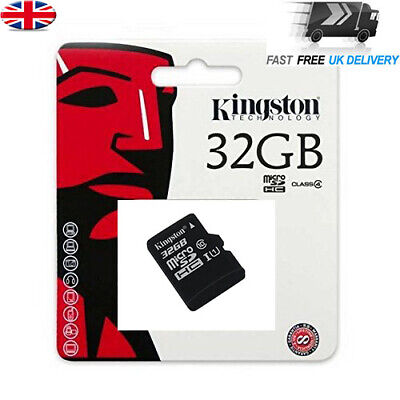 32GB Kingston Micro SD 80MB/s TF Memory Card for Dash Cam Camera Car