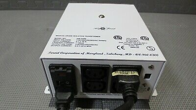 Toroid ISB-030W Medical Grade Isolation Transformer, 4 Outlets