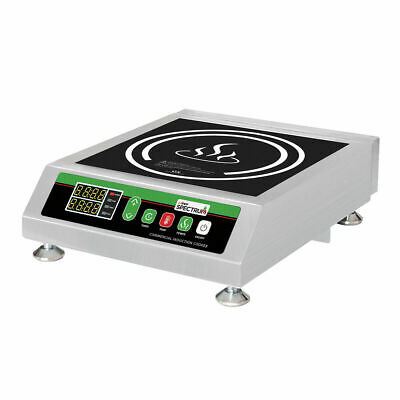 NEW Electric Induction Counter top Cooktop Burner Winco EIC-400 #9915 Commercial