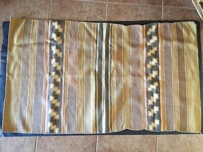 Navajo Hand Woven  Rug C1940  60 x 34. Tight weave