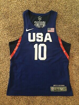 online store 31648 4ec7a 100% AUTHENTIC KYRIE Irving Nike USA Olympics Jersey Size S ...