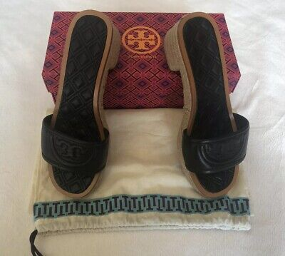 3f62f1e7b TORY BURCH Fleming 50MM Slide Espadrille Sandals With A Box - Size 7.5  275  NEW