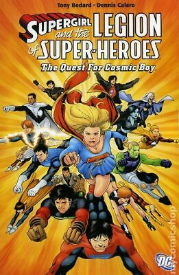 Supergirl and the Legion of Super-Heroes TPB (DC) #6-1ST 2008 FN Stock Image